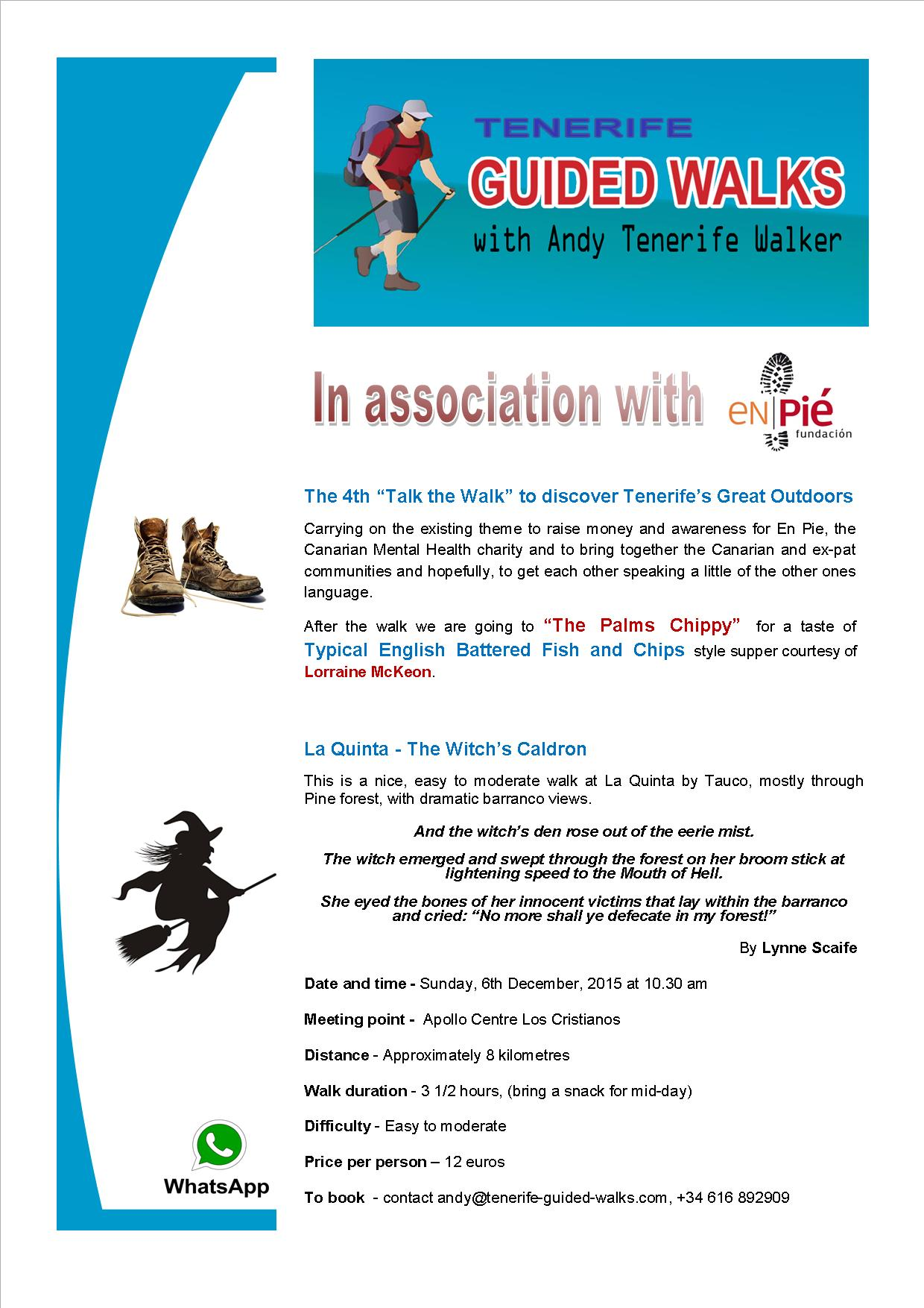 En Pie flyer Walk no 4 La Quinta